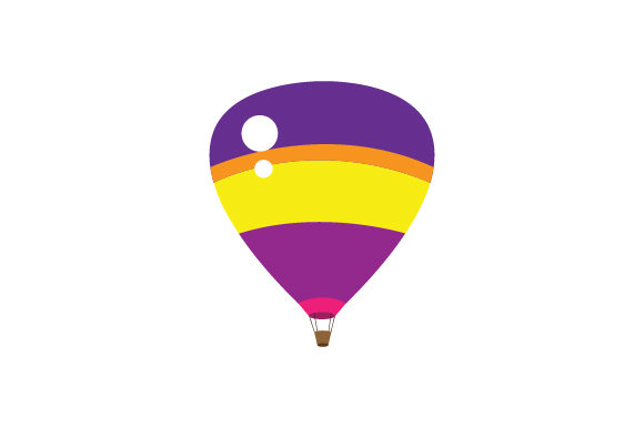 Hot Air Balloon Designs & Drawings Craft Cut File By Creative Fabrica Crafts