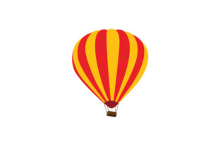 Hot Air Balloon Craft Design By Creative Fabrica Crafts