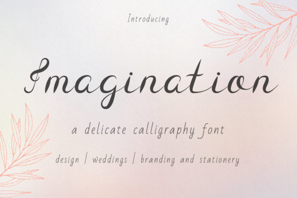 Print on Demand: Imagination Script & Handwritten Font By Kirill's Workshop