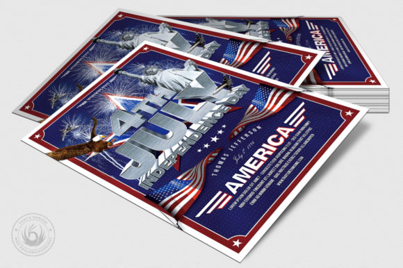 Independence Day Flyer Template V1 Graphic By ThatsDesignStore Image 4