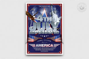 Independence Day Flyer Template V1 Graphic By ThatsDesignStore