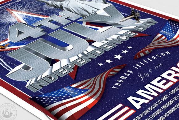 Independence Day Flyer Template V1 Graphic By ThatsDesignStore Image 6
