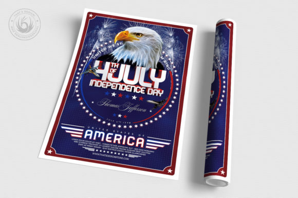 Independence Day Flyer Template V2 Graphic By ThatsDesignStore Image 3