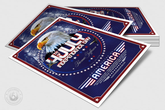 Independence Day Flyer Template V2 Graphic By ThatsDesignStore Image 4