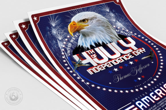 Independence Day Flyer Template V2 Graphic By ThatsDesignStore Image 5