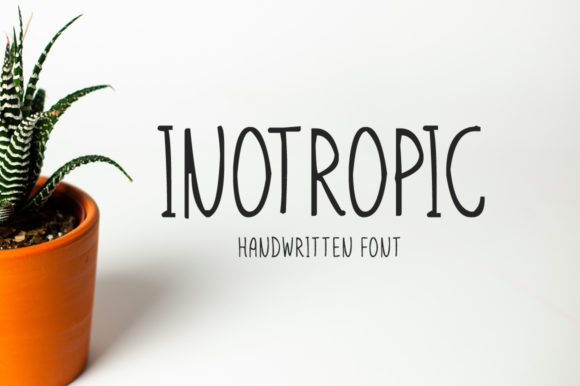 Print on Demand: Inotropic Display Font By Imposing Fonts