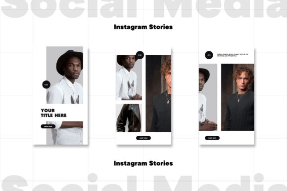 Instagram Stories Template Graphic Download