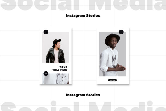 Instagram Stories Template Graphic Item