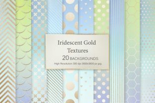 Iridescent Gold Textures Graphic By artisssticcc