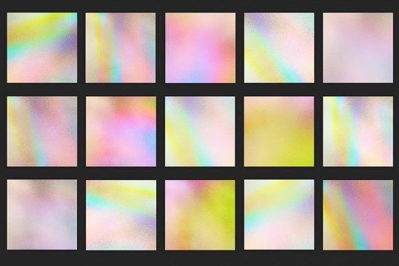 Print on Demand: Iridescent Textures Graphic Patterns By Creative Paper - Image 3