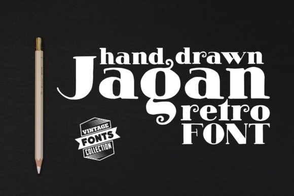 Print on Demand: Jagan Serif Font By grin3 - Image 1