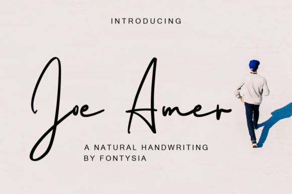 Print on Demand: Joe Amer Script & Handwritten Font By fontysia