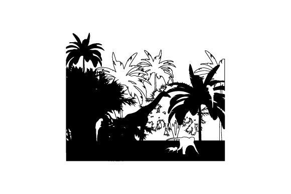 Download Free Jungle Theme Svg Cut File By Creative Fabrica Crafts Creative for Cricut Explore, Silhouette and other cutting machines.