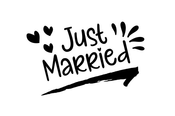 Download Free Just Married Archivos De Corte Svg Por Creative Fabrica Crafts for Cricut Explore, Silhouette and other cutting machines.
