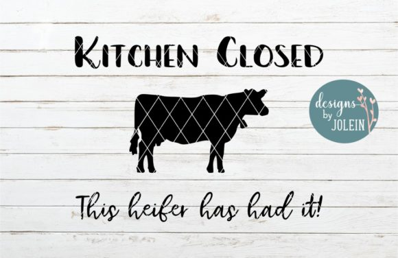 Download Free Kitchen Closed Graphic By Designs By Jolein Creative Fabrica SVG Cut Files