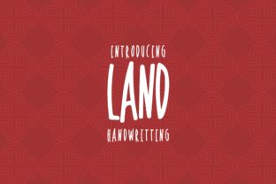 Land Font By Hdjs.design