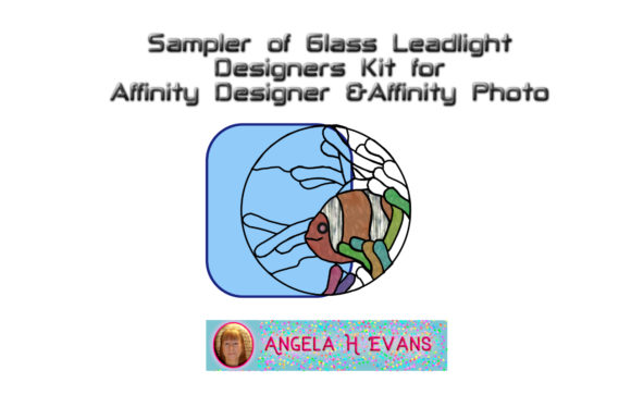 Print on Demand: Leadlight Designers Kit for Affinity Graphic Layer Styles By Angela H. Evans - Image 6