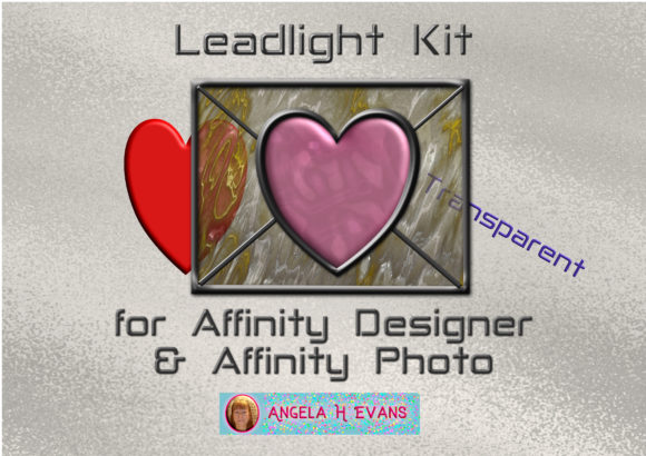 Print on Demand: Leadlight Designers Kit for Affinity Graphic Layer Styles By Angela H. Evans - Image 1