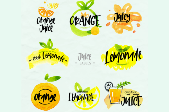 Lemon And Fresh Font By Besttypeco Creative Fabrica