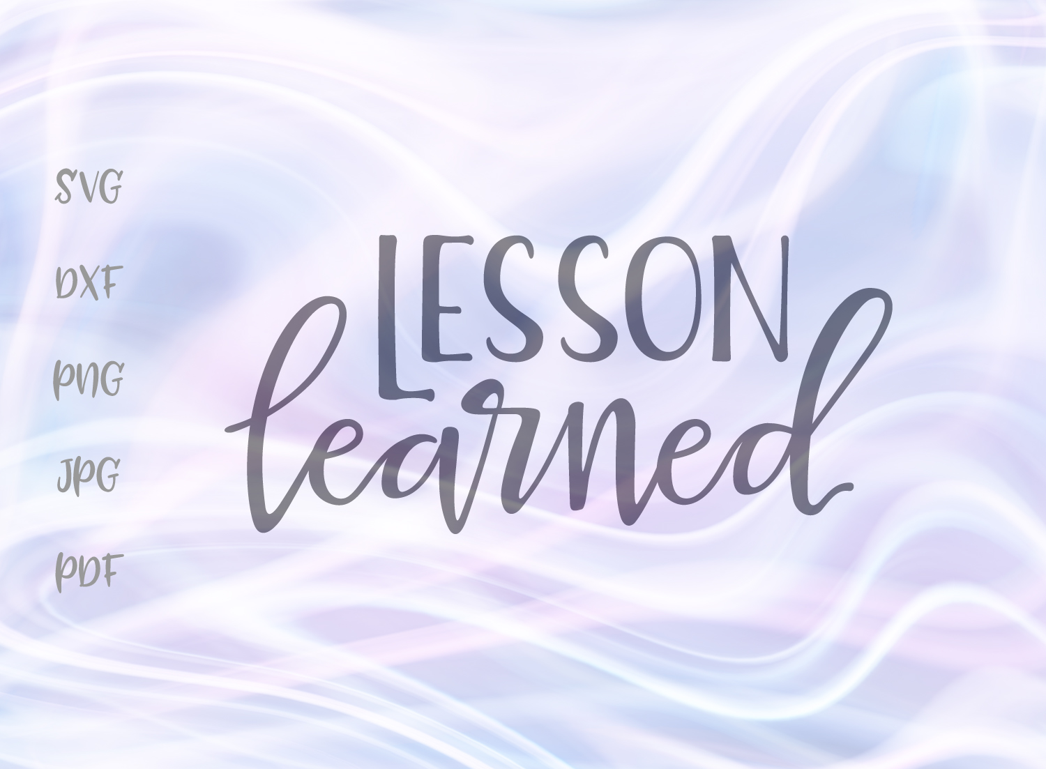 Download Free Lesson Learned Graphic By Digitals By Hanna Creative Fabrica for Cricut Explore, Silhouette and other cutting machines.