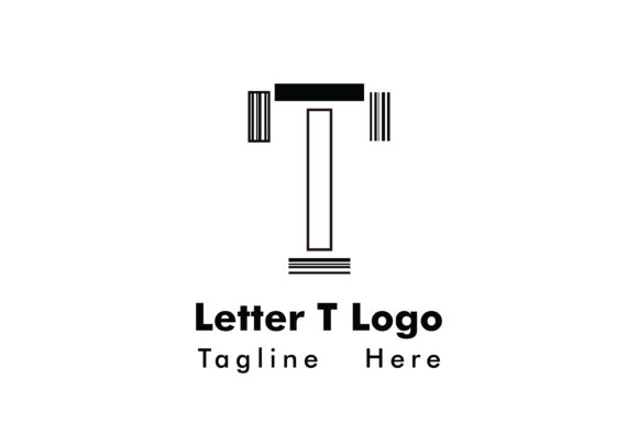 Letter T Logo Vector Graphic Crafts By Yuhana Purwanti