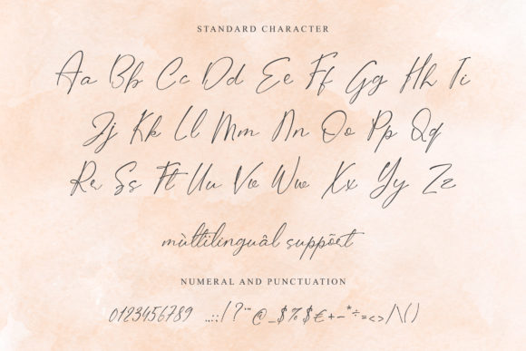 Print on Demand: Lifogia Script & Handwritten Font By Fivont - Image 13