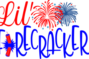 Download Free Lil Firecracker Graphic By Crystalhale Creative Fabrica for Cricut Explore, Silhouette and other cutting machines.