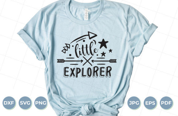 Little Explorer SVG, Adventure SVG Graphic Crafts By luxedesignartetsy
