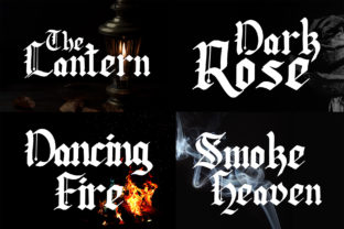 Print on Demand: Lodeh Blackletter Font By dmletter31 2