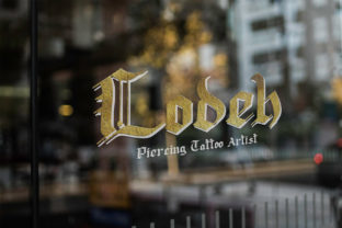 Print on Demand: Lodeh Blackletter Font By dmletter31 5