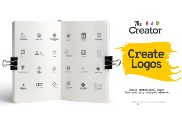 Print on Demand: Logo Creator Graphic Logos By creator