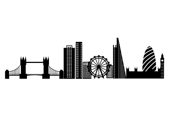 London Skyline UK Designs Craft Cut File By Creative Fabrica Crafts
