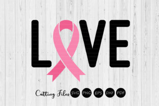 Love   Cancer Awareness SVG   Graphic By HD Art Workshop
