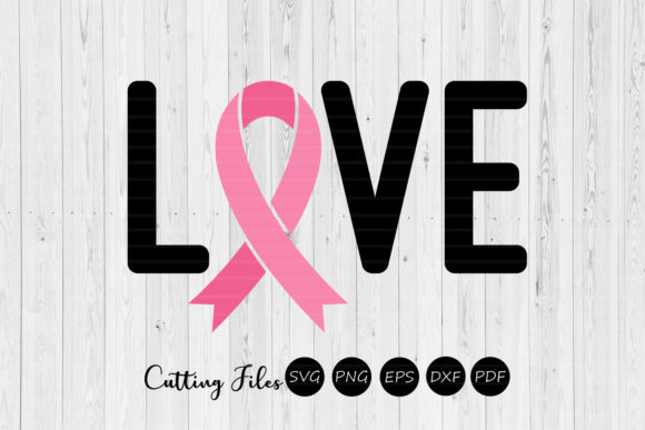 Download Free Love Cancer Awareness Svg Graphic By Hd Art Workshop for Cricut Explore, Silhouette and other cutting machines.