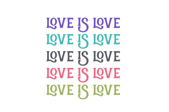 Love is Love Family Craft Cut File By Creative Fabrica Crafts - Image 1