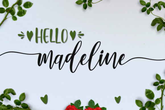Lovely Buttering Font By luckytype.font Image 11
