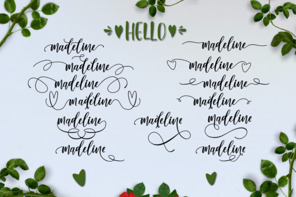 Lovely Buttering Font By luckytype.font Image 14