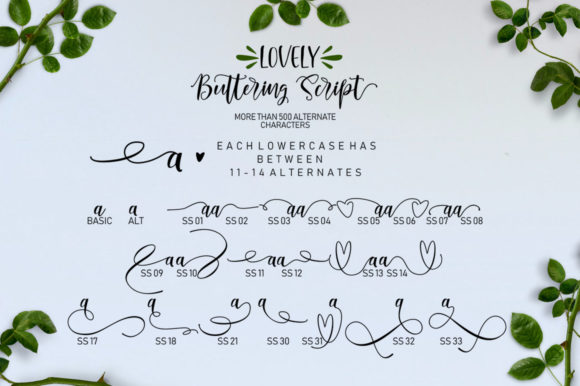 Lovely Buttering Font By luckytype.font Image 6