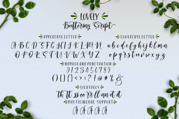 Lovely Buttering Font By luckytype.font Image 8