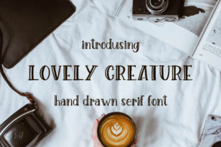 Lovely Creature Font By Sentimental Postman