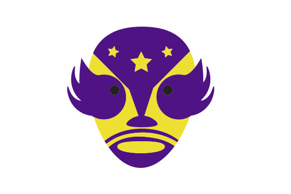 Download Free Luche Libre Mask Svg Cut File By Creative Fabrica Crafts for Cricut Explore, Silhouette and other cutting machines.