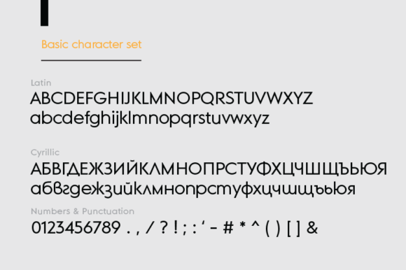 Print on Demand: MD Grotesque Sans Serif Font By Margarita Dyakovich - Image 5