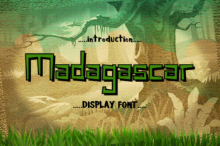 Madagascar Font By InDhika