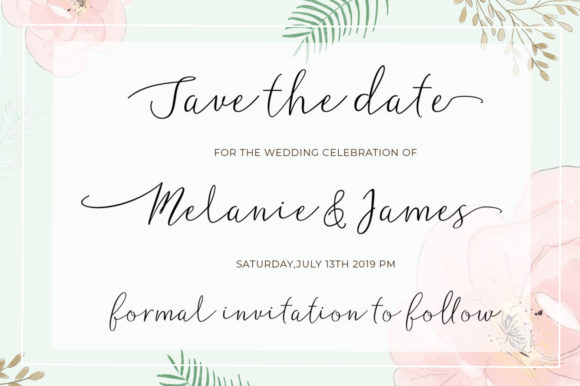 Print on Demand: Madeline Script & Handwritten Font By Posts Type - Image 3