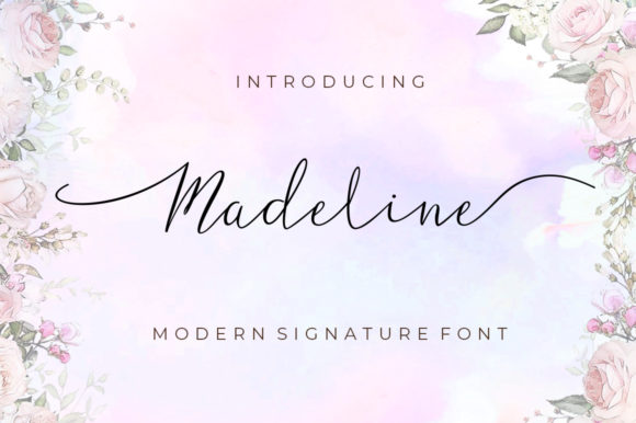 Print on Demand: Madeline Script & Handwritten Font By Posts Type - Image 1