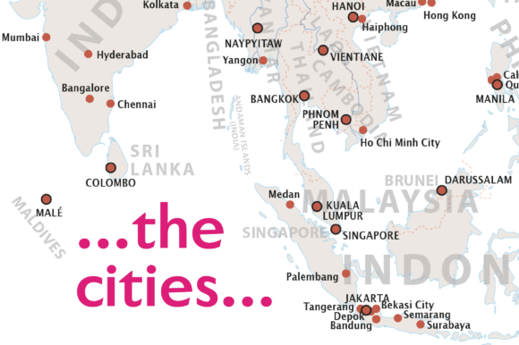 Download Free Map Of Asia Graphic By Ingofonts Creative Fabrica for Cricut Explore, Silhouette and other cutting machines.