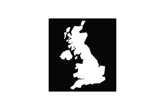 Download Free Map Of Uk Cartoon Style Svg Cut File By Creative Fabrica Crafts for Cricut Explore, Silhouette and other cutting machines.