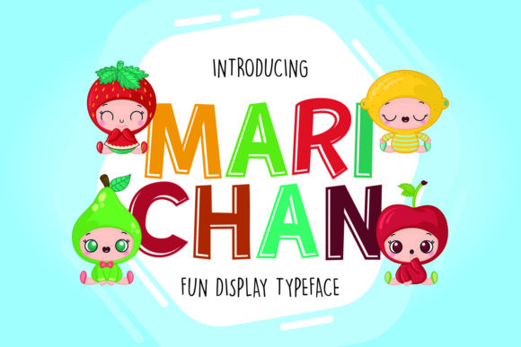 Print on Demand: Marichan Display Font By fachranheit