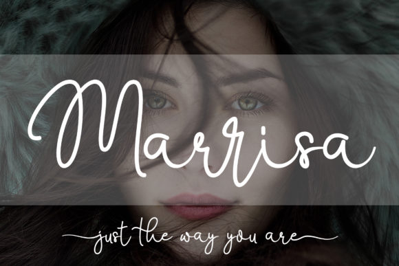 Print on Demand: Marrisa Script Script & Handwritten Font By aldedesign