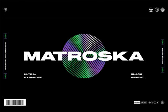 Print on Demand: Matroska Display Font By Brothers Graphic